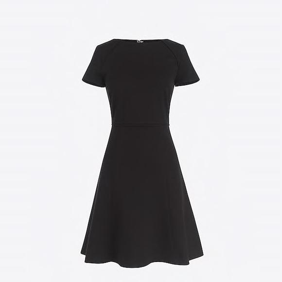 J. Crew Dresses & Skirts - nwot jcrew short sleeve flounce ponte dress g9357